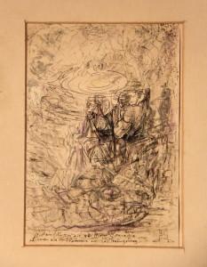 Divina Commedia: Purgatorio VII - Nella valle dei principi prima del tramonto