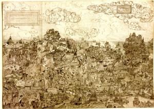 Paesaggio medievale - Bernhard Gillessen