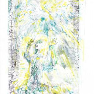 Quadriregio - Regno delle Virtù: estasi del poeta - Bernhard Gillessen