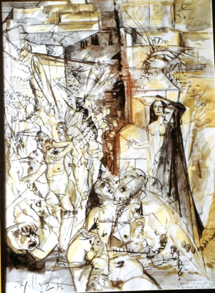 Divina Commedia: Inferno - Gli ignavi #2 - Bernhard Gillessen
