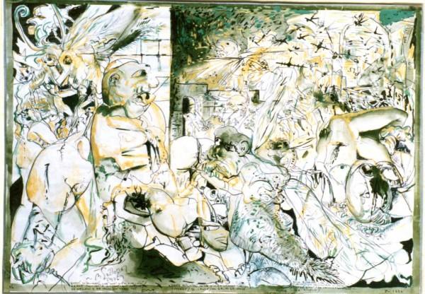 Divina Commedia: Inferno - Gli ignavi - Bernhard Gillessen