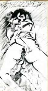 Scena erotica #9 - Bernhard Gillessen