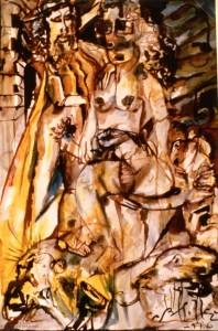 Scena erotica #10 - Bernhard Gillessen