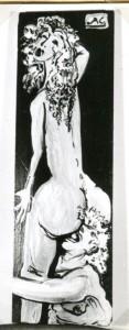 Scena erotica #4 - Bernhard Gillessen