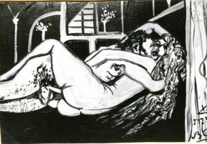 Scena erotica #5 - Bernhard Gillessen