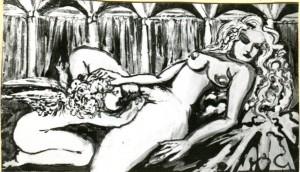 Scena erotica #6 - Bernhard Gillessen