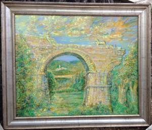 Elegia pittorica sovra il Ponte d'Augusto a Narni - Bernhard Gillessen