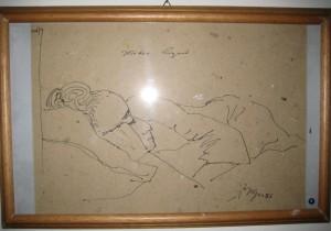 Mia madre dormiente - Bernhard Gillessen