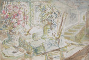 Natura Morta con rose - Bernhard Gillessen