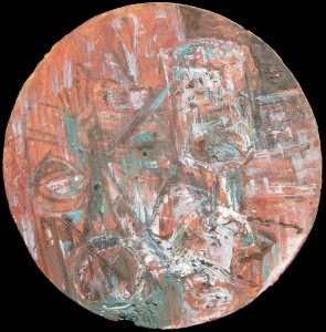 Natura Morta con tre bicchieri - Bernhard Gillessen