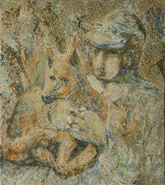 Autoritratto con Faustina - Bernhard Gillessen