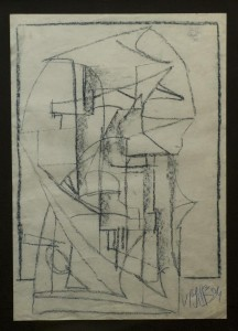 Bozzetto scultura astratta - Bernhard Gillessen