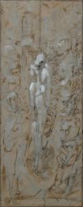 La vittima - Bozzetto per il dipinto - Bernhard Gillessen