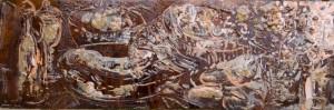 Natura morta con pesce - Bernhard Gillessen