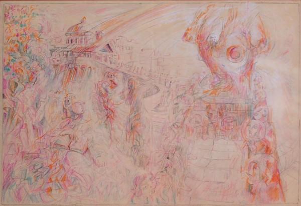 Re Davide a Gerusalemme - Bozzetto #2 - Bernhard Gillessen
