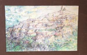 Veduta su Piaggia di Trevi - Bernhard Gillessen
