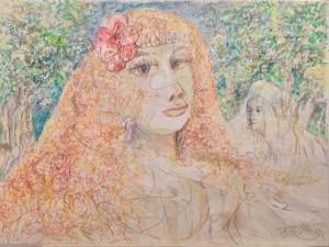 Giovinetta Smarrita nel giardino del Mago
