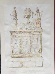 Palio dei Terzieri - Bozzetto per base ornamentale - Bernhard Gillessen