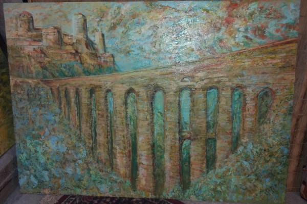 Paesaggio del ponte spoletino - Berhnard Gillessen